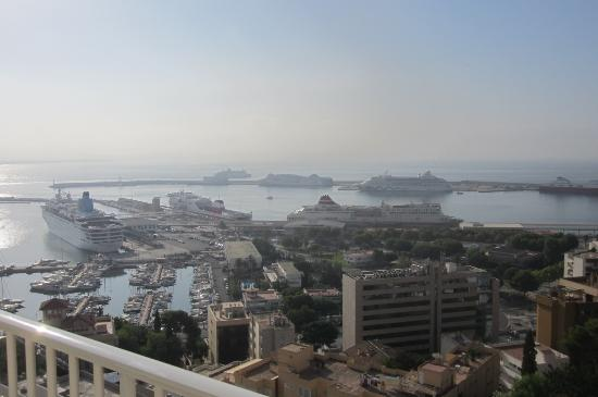 Hotel Amic Horizonte : Panorama porto di Palma