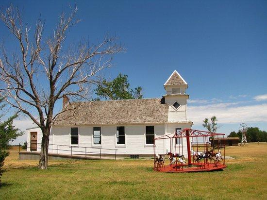 Santa Fe Trail Center: Außengelände