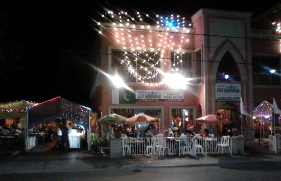 Lahore Tikka House: great for summer evenings