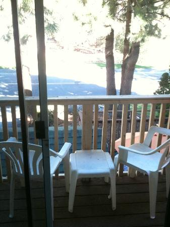 Americas Best Value Inn - Casino Center Lake Tahoe: balcony
