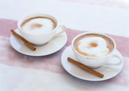 Piccadilly Square: A cup of warm latte