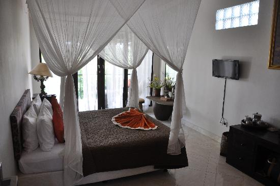 Mulawarman Ubud Bali: One of our top floor bedrooms.
