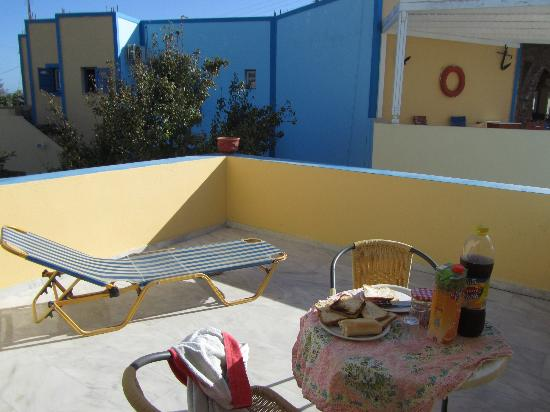 Dimitris Villas: Terrazzo