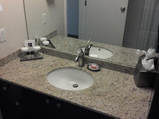 Nice bathroom counter - Picture of Gage Residence at UBC ...