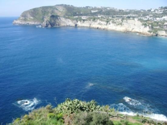 Park Hotel & Terme Romantica: Baia del Chiarito, Ischia, Seaview from Romantica