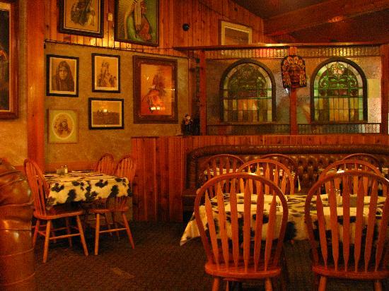 Casey's Cowtown Club: Schönes Ambiente im Restaurant