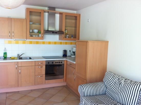 Hostel Ruthensteiner: kitchen apartment 8
