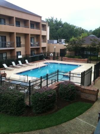 Courtyard by Marriott Atlanta Marietta/I-75 North: balcony view