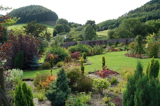 Llandrindod Wells, UK: The Walled Garden