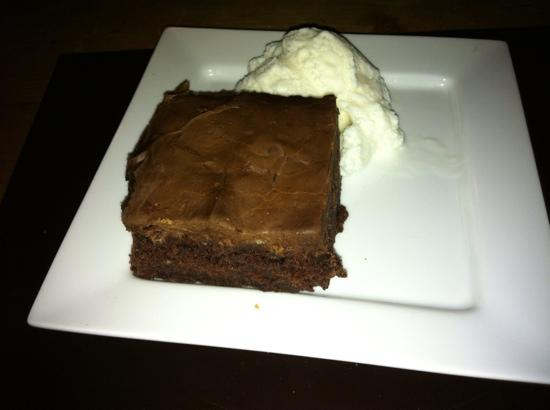 The Stag Inn: Chocolate Brownie