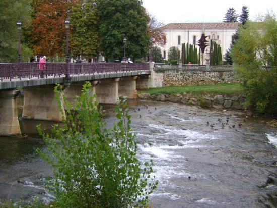 Parque de la Isla.: Parque de la Isla, Burgos.