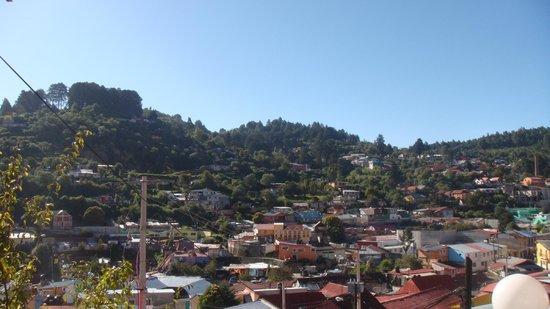 Mineral del Monte, México: vista de real del monte desde el hotel del mismo nombre