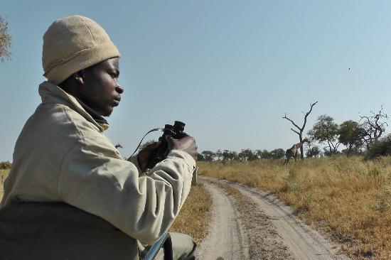 Lagoon Camp - Kwando Safaris: Aaron 