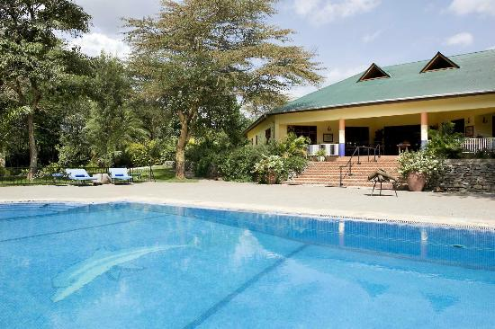 Olasiti Lodge, Tanganyika Wilderness Camps: Main House and swimming pool
