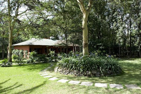Olasiti Lodge, Tanganyika Wilderness Camps: Gardens and cottages