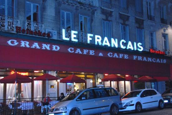 Brasserie Le Francais : la façade