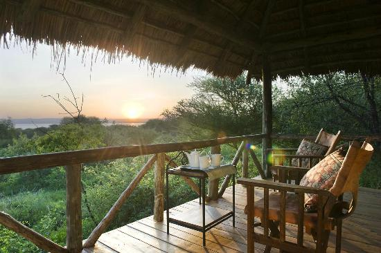 Lake Burunge Tented Camp: View from the tent