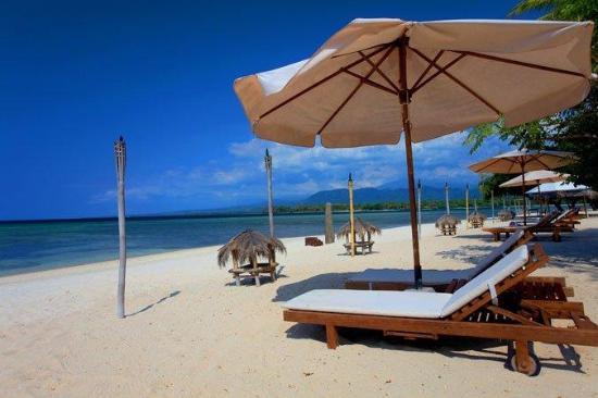 Hotel Tugu Lombok : Sire Beach