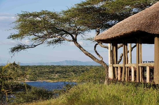 Masek Tented C& View from Main house to the lake & View from Main house to the lake - Picture of Masek Tented Camp ...