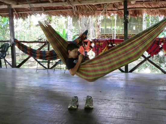 Amazon Explorama Lodges: Relaxing