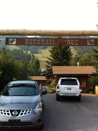 Buckrail Lodge: nestled in a quiet neighborhood