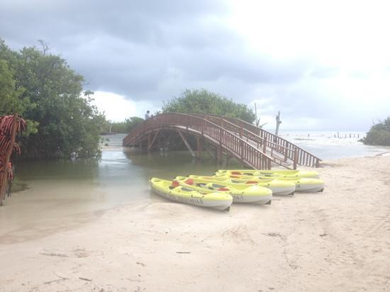 Hacienda Tres Rios: kayak