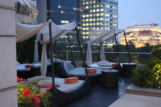 The Fullerton Bay Hotel Singapore : Roof top facilities