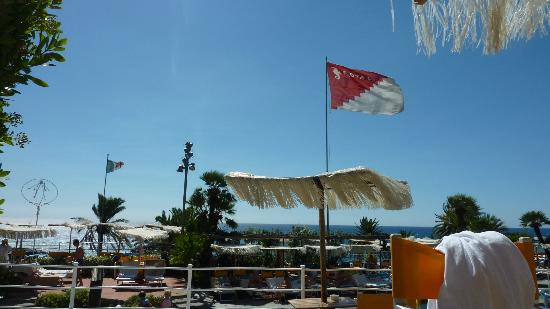 Royal Hotel Sanremo: Hotelflagge