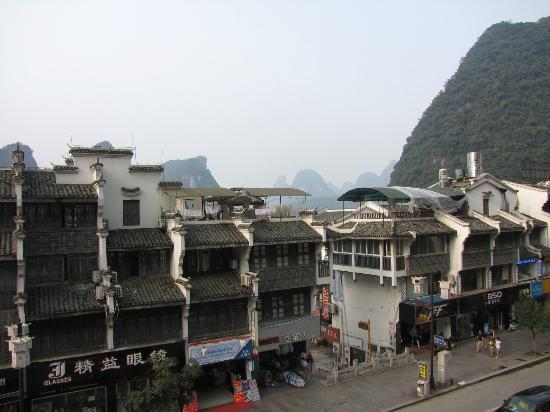 ‪‪Starway Yangshuo Xijie Xinfu'an Hotel‬: Fantastic View From Room‬
