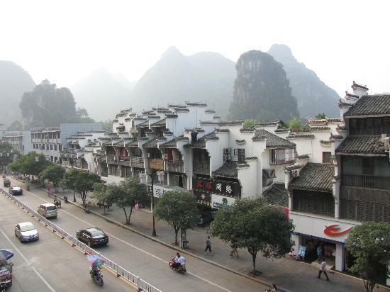 Starway Yangshuo Xijie Xinfu'an Hotel: Fantastic View From Room