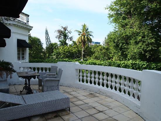 Paradise Road Tintagel Colombo: 部屋についていたバルコニー