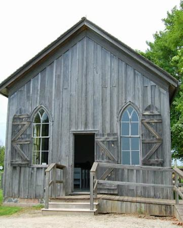 Uncle Tom's Cabin: Settlement church