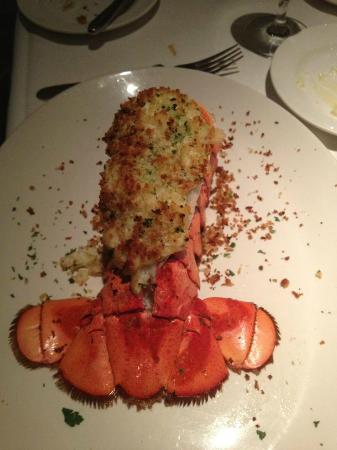 Delmonico Steakhouse: Crab Stuffed Lobster