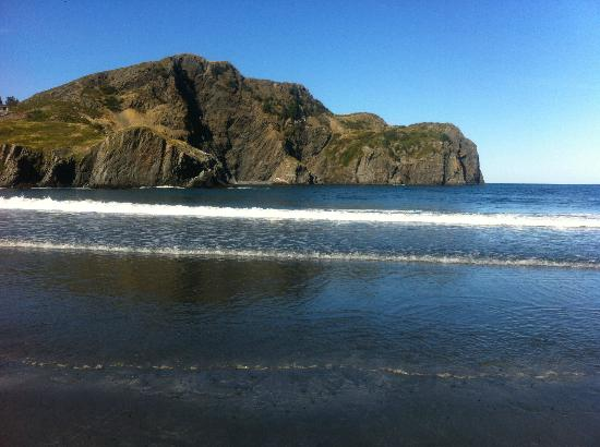 Salmon Cove Sands: Watching the Waves Crash Gently