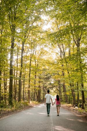Presqu'ile Provincial Park: walking with my love one
