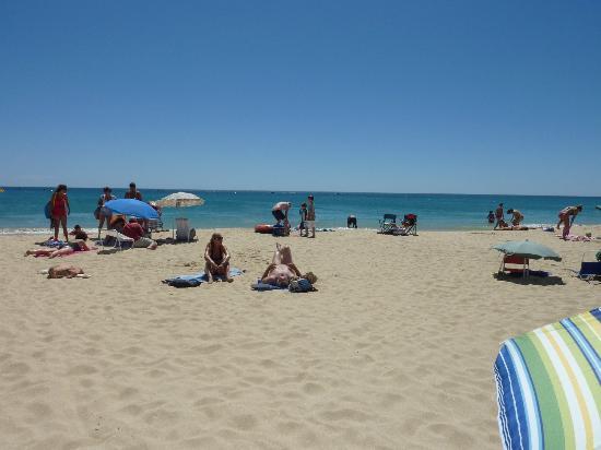 Praia da Luz: In front