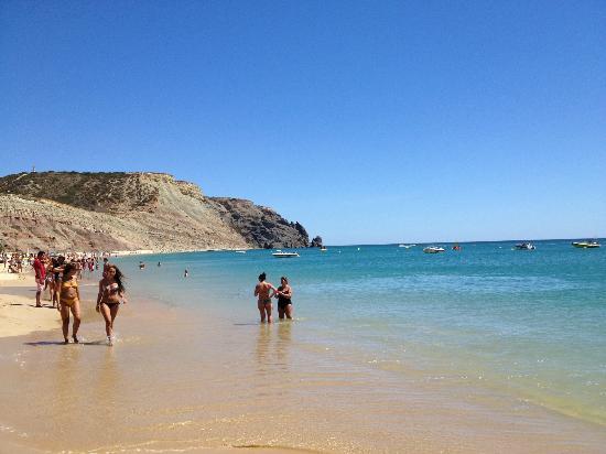 Praia la Luz: To the left