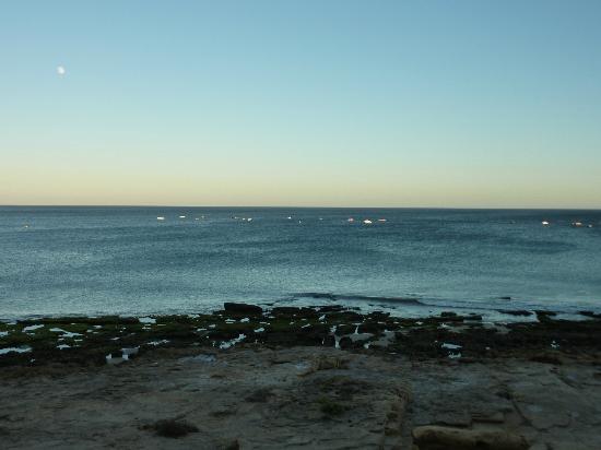 Praia la Luz: At sunset