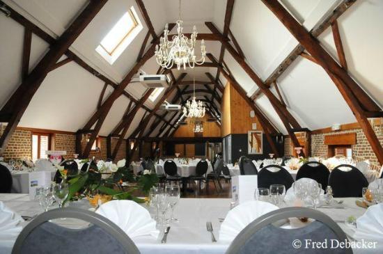 Le Domaine des Cigognes Hotel : Salon Mariage