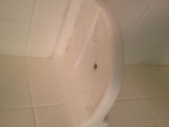 Econo Lodge: SOAP SCUM & MOLD!