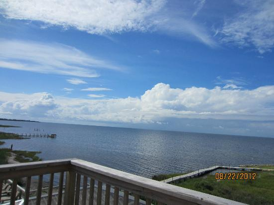The Inn on Pamlico Sound: View from the Rom