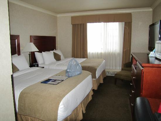 BEST WESTERN Gold Rush Inn: Beds