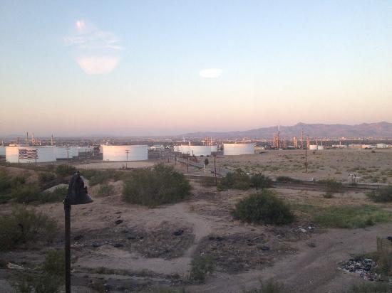 Homewood Suites El Paso Airport: Sunrise in El Paso (rear-facing room)