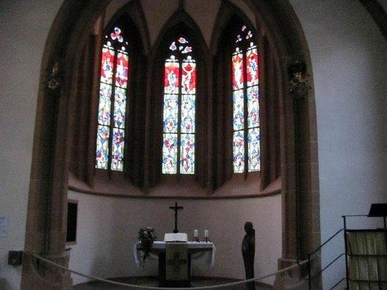 Wertheim, Germany: choir