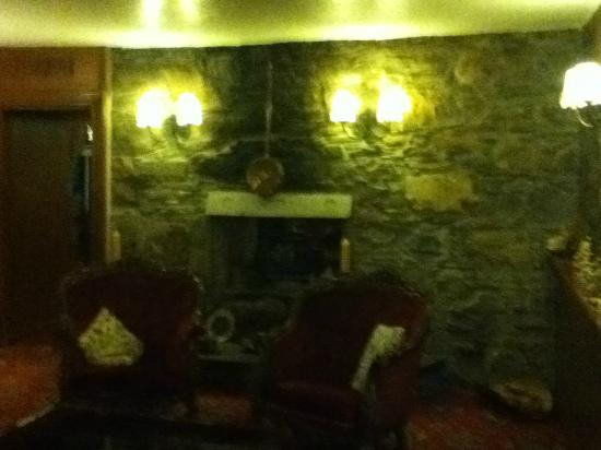 Garve Country Hotel: lovely little lounge area