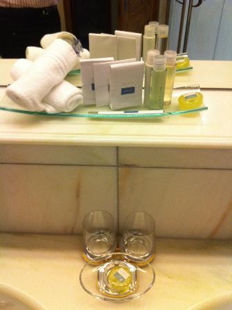 BelArosa Hotel: Badequipment