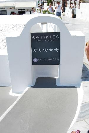 Katikies Hotel: Not all 5 stars are created equal! Katikes deserves 6!