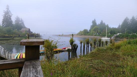 Columbia River Kayaking Day Tours : Skamokawa near the Kayak launch site
