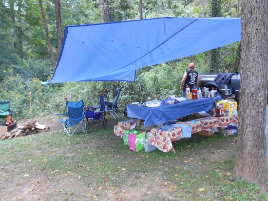 Little Orleans Campground : Picnic Area
