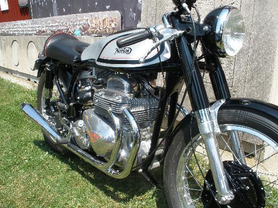 Gilmore Car Museum: SHow bike example
